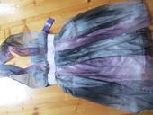 Duhove šedo-fialove šaty, 43