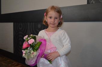 naša dcérka Kristínka
