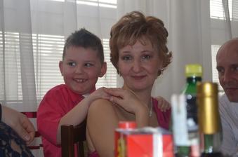 s mladším synom Matúškom