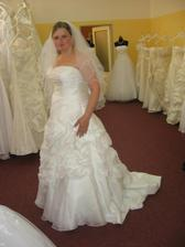 ...nevěsta....poslední zkouška...