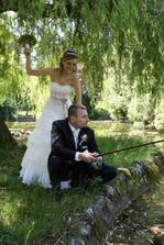 aha ho, rybacka este aj v den svadby ???