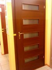 Takéto dvere chceme do spálne, samozrejme v dekore ako sú ostatné dvere v byte :)