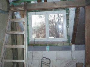 Pohľad na kuchynské okno