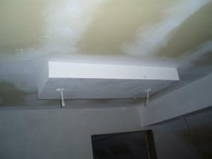 Príprava na bodové svetlá v kuchyni