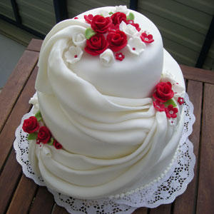 Svadobná torta - Obrázok č. 6