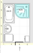 môj - pračka 40x60, neviem ako by sa vstupovalo do sprchov. k.