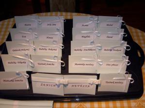 jmenovky na svat. tabuli už jsou na světě :-)