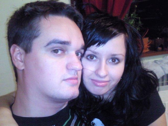 Dominka a andrejko 25.09.2010 - budúci novomanželia Dominika a Andrejko