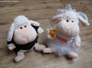 ovečka a beránek na auto-úžasný úlovek :o)