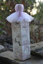 svadobná fľaša just maried