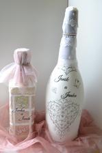 svadobne darčekove fľaše