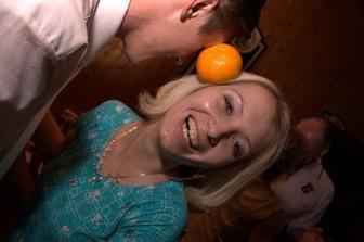 Tanec s pomeranči