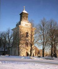 Kostol v Grytnas - miesto obradu