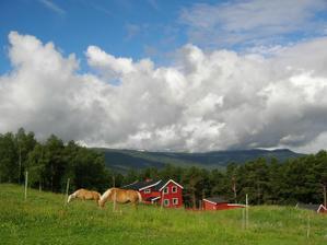 Nasa prva mini svadobna cesta-Norsko