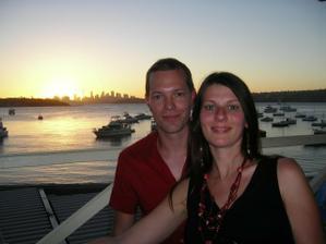 Zapad slnka v Sydney, Australia