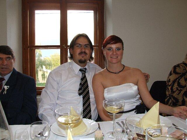 Predstavy, sny, inspiracie - my na bratrancovej svadbe oktober 2007