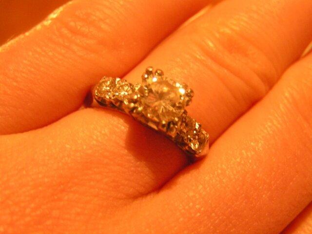 Predstavy, sny, inspiracie - tak tymto prstenom ma 23.2.2007 poziadal o ruku:)