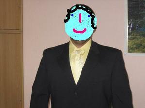 přítel v obleku