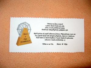 Svatební dary - tombola ....