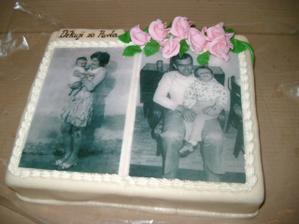 Dortík pro rodiče ženicha