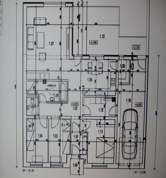 Budeme stavět - jelikož jsme v zástavbě, tak se nám to trošku komplikovalo s okny, ale konečný výsledek myslím stojí za to. Aspoň doufám
