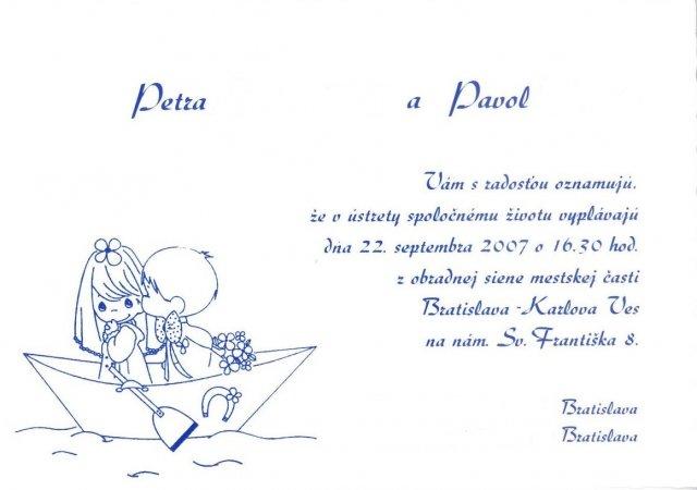 Naša svadba: PEŤKA a PALINO 22.9.2007 - Obrázok č. 41