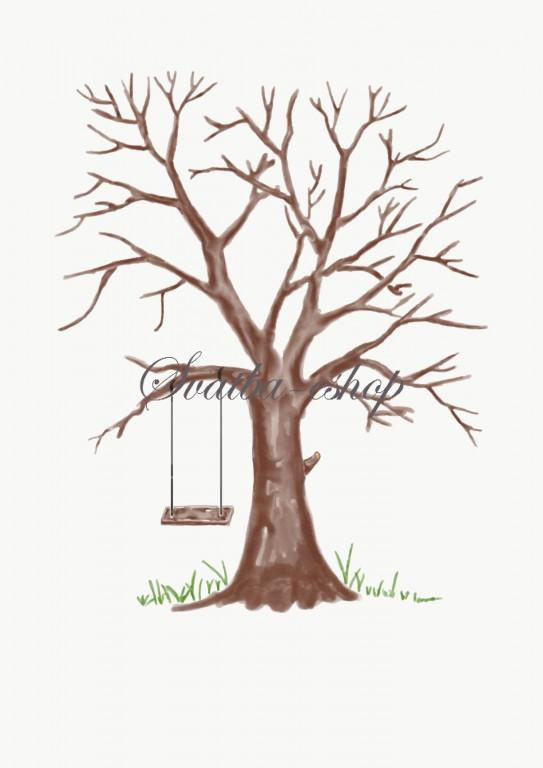 Svatební stromy přání - Obrázok č. 5