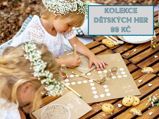 Novinka - dětské svatební hry za 3,90 EUR - Obrázok č. 6