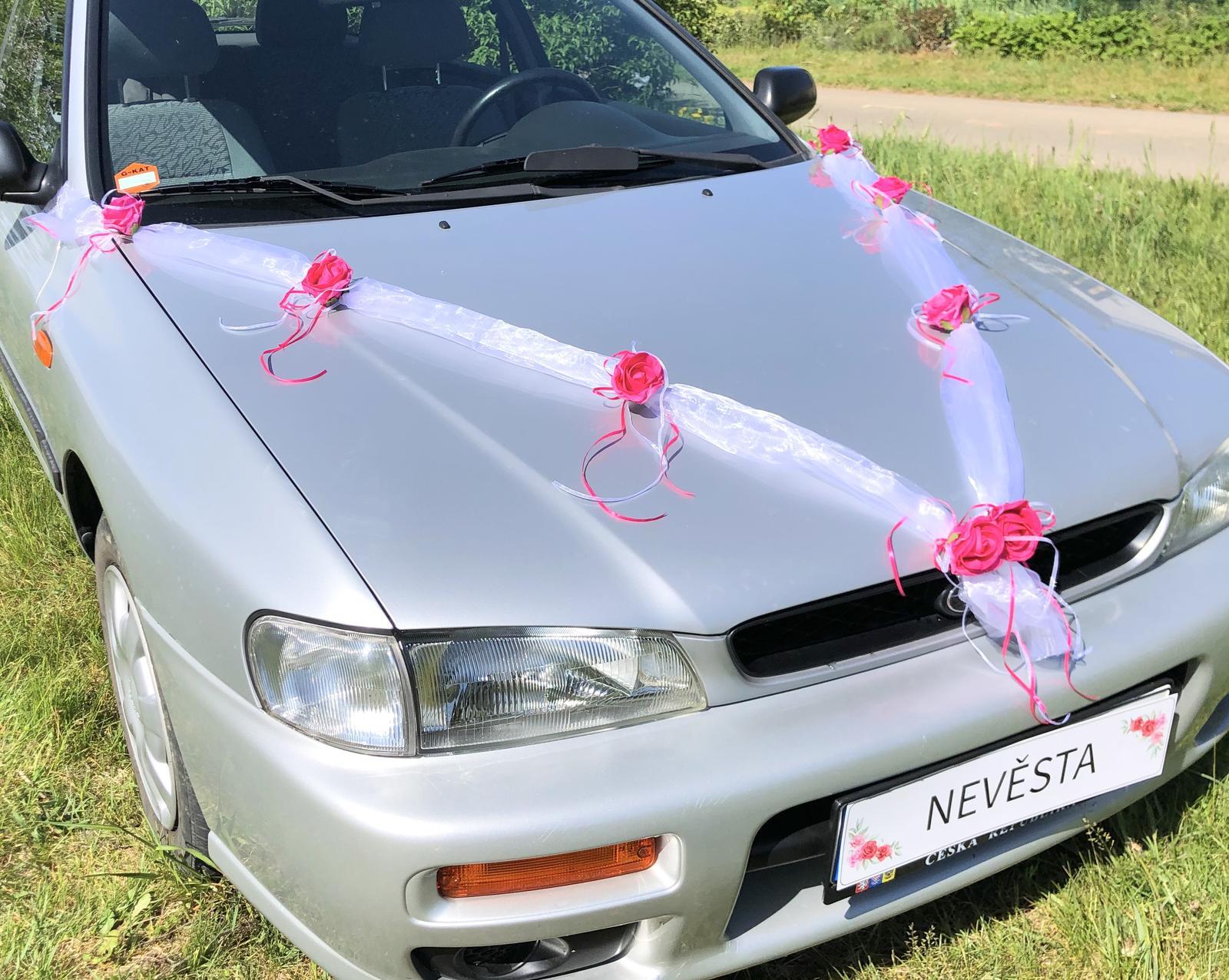 Šerpy na svatební auta - Obrázok č. 1