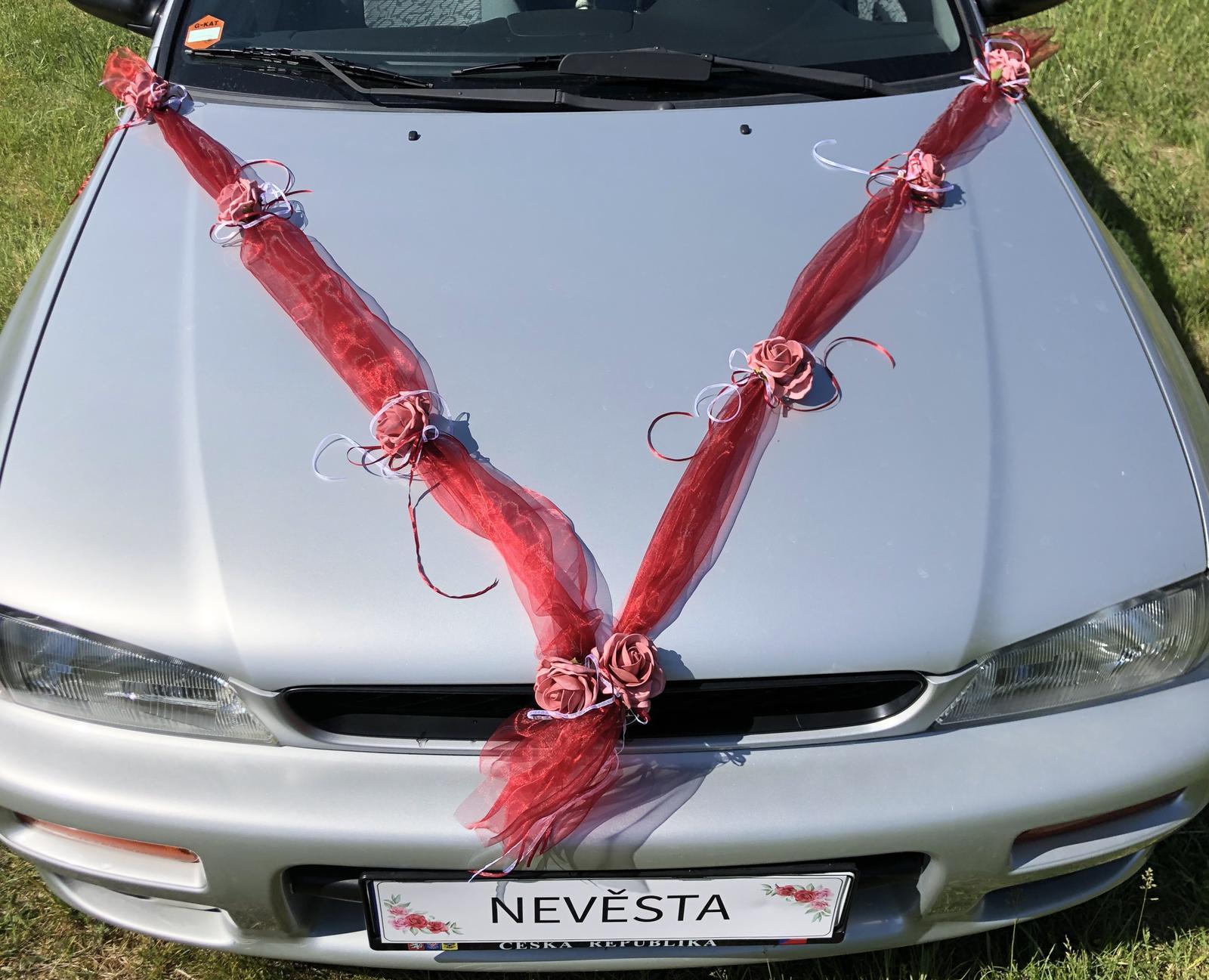 Šerpy na svatební auta - Obrázok č. 2
