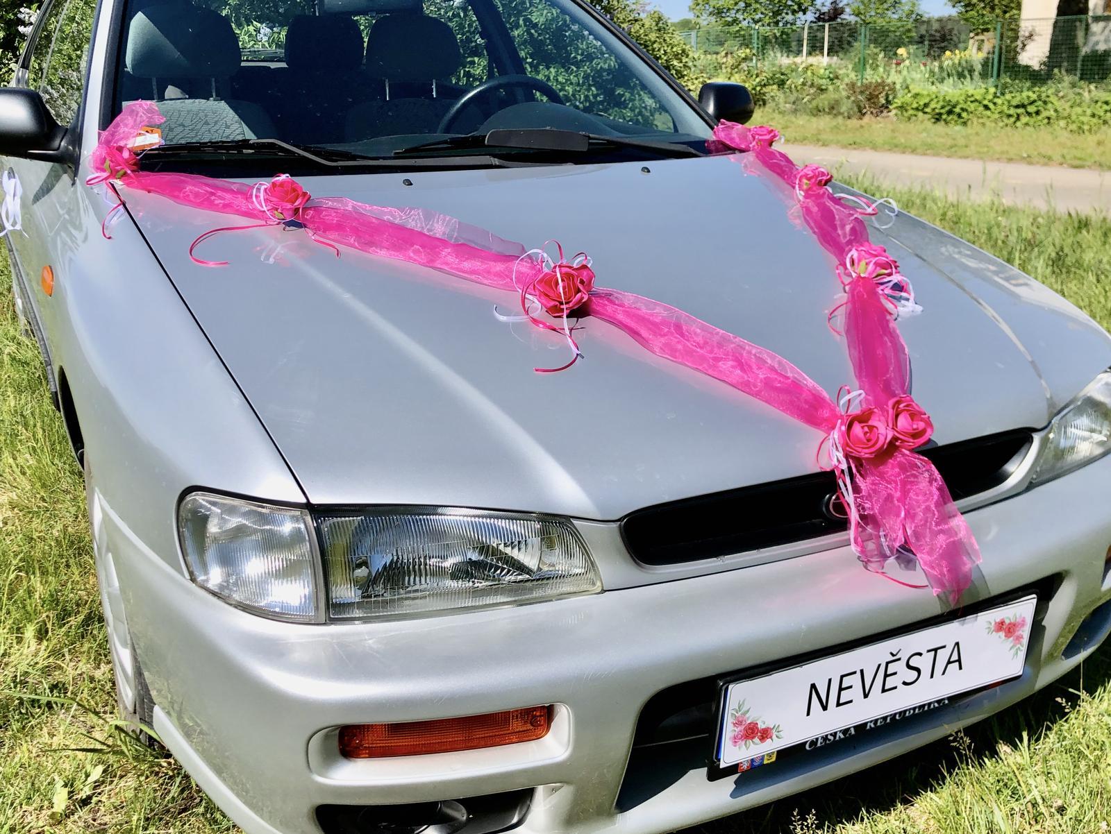 Šerpy na svatební auta - Obrázok č. 3