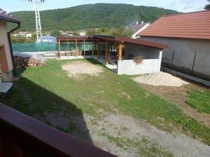 jesen 2012 - pohlad z terasy