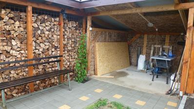 rok 2014 - zateplujeme zahradny domcek