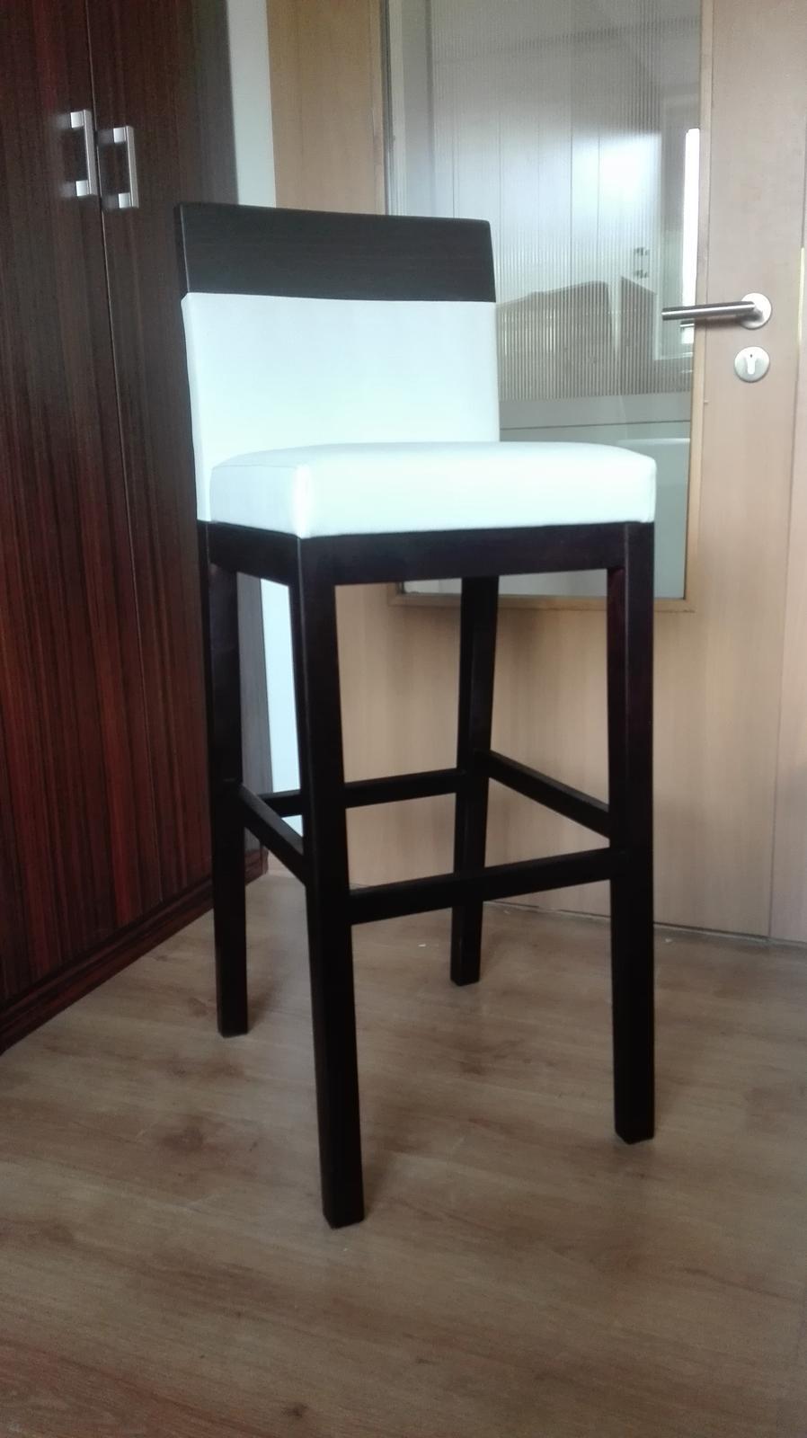 Barová stolička masív - Obrázok č. 1
