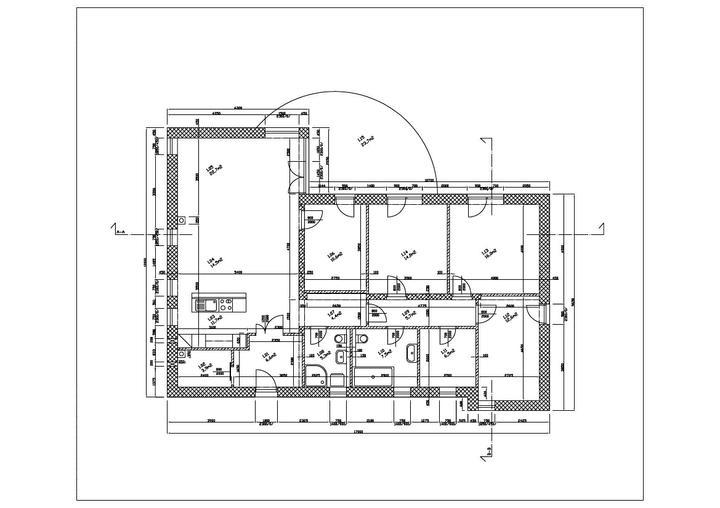 Jednoduché vizualizácie DM House - Pôdorys nášho domčeka
