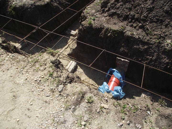 DM House - Rúra pre kanalizáciu