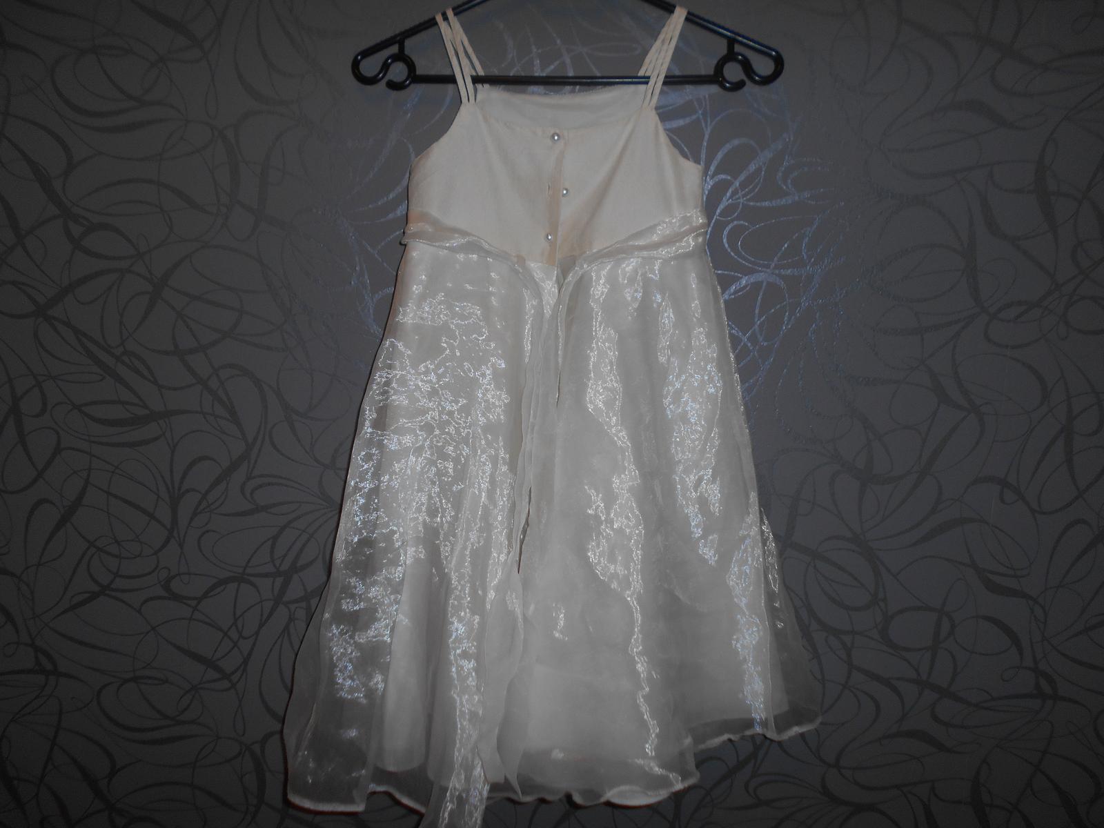 společenské šaty pro družíčku -srdíčka - Obrázek č. 3