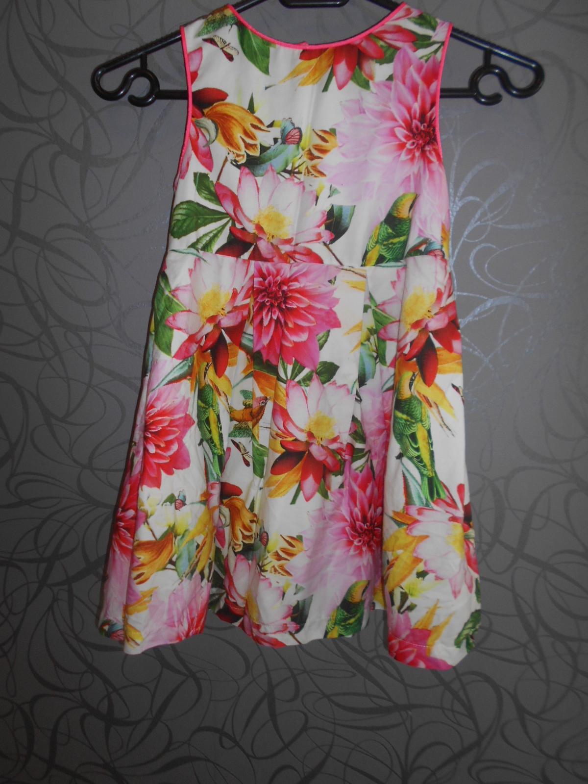květinkové šaty Next - Obrázek č. 1