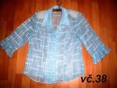 elegantna priesvitna bluzka , 40