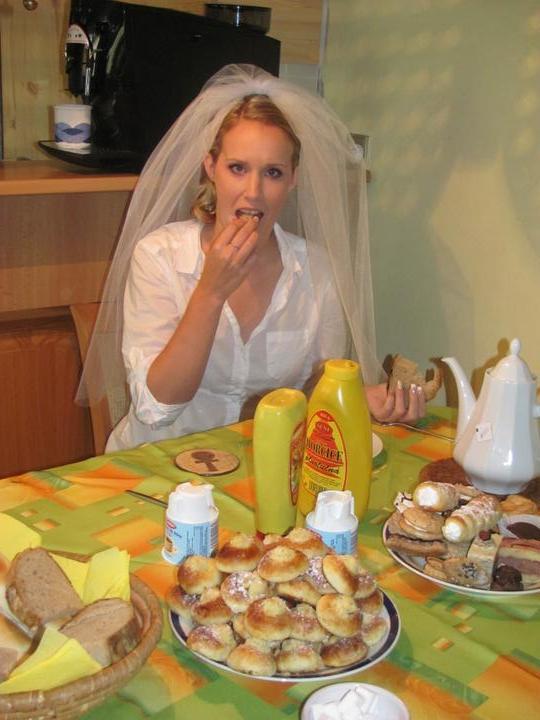 Michaela{{_AND_}}David - I nevěsta se musela najíst :-)