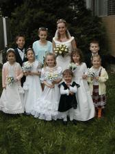 najmenší účastníci svadby
