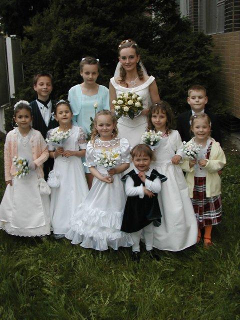 Lucka{{_AND_}}Stanko Havloví - najmenší účastníci svadby
