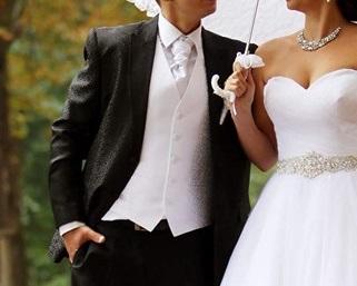 Vesta a kravata na predaj PAVANNA - Obrázok č. 1
