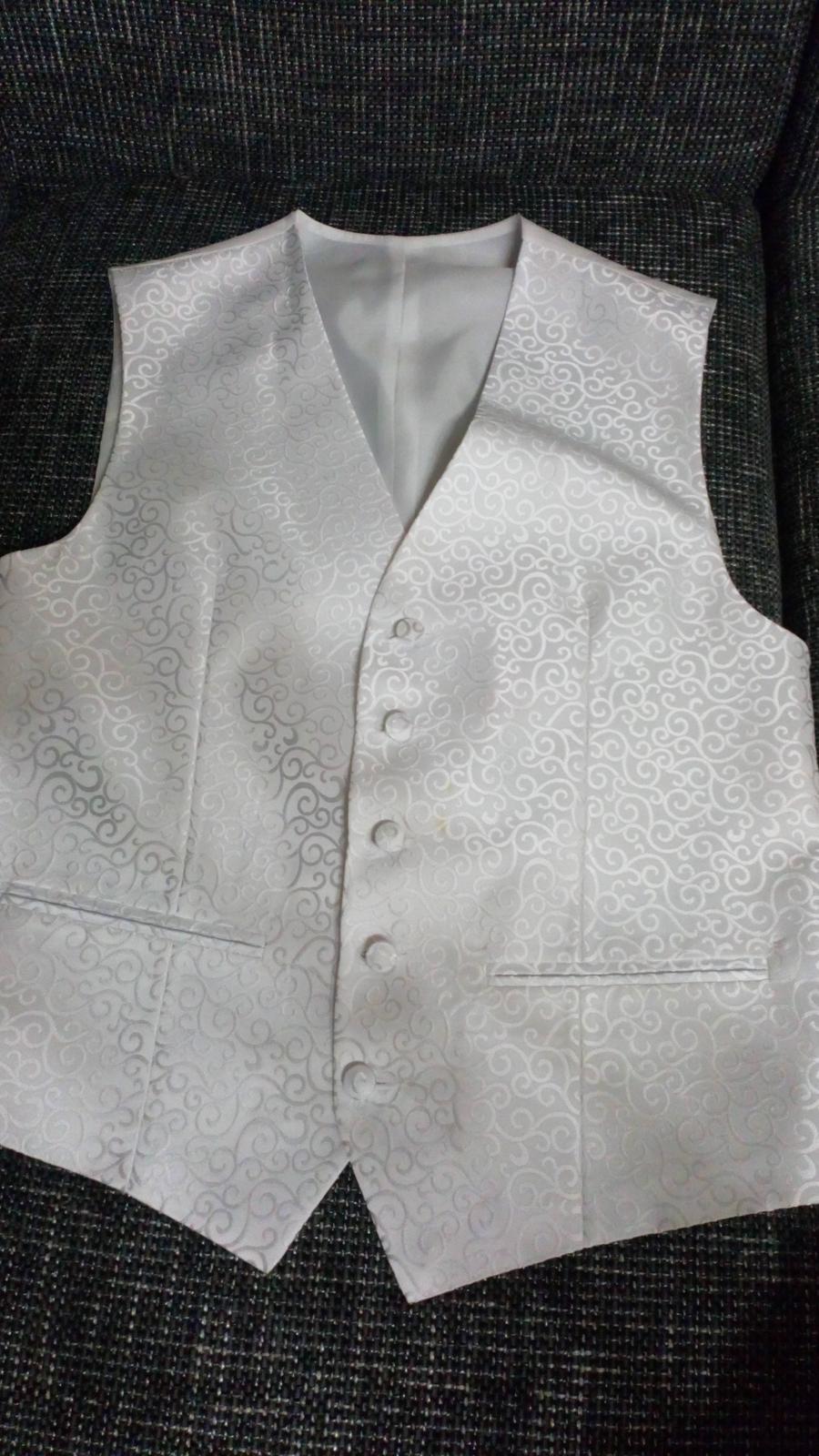 Vesta a kravata na predaj PAVANNA - Obrázok č. 4