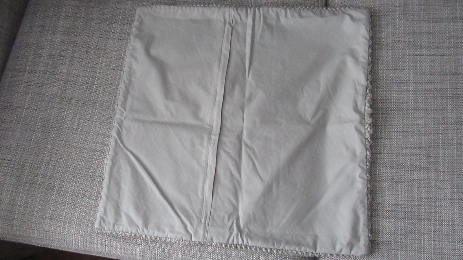 sivá pletená obliečka - Obrázok č. 4