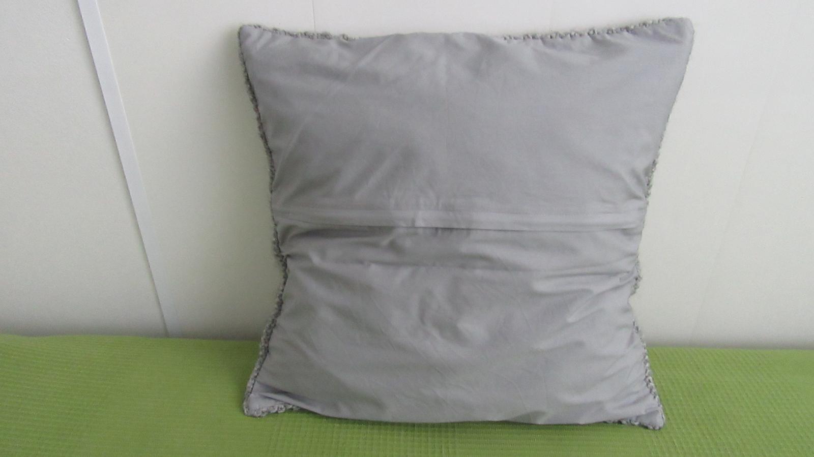 sivá pletená obliečka - Obrázok č. 2