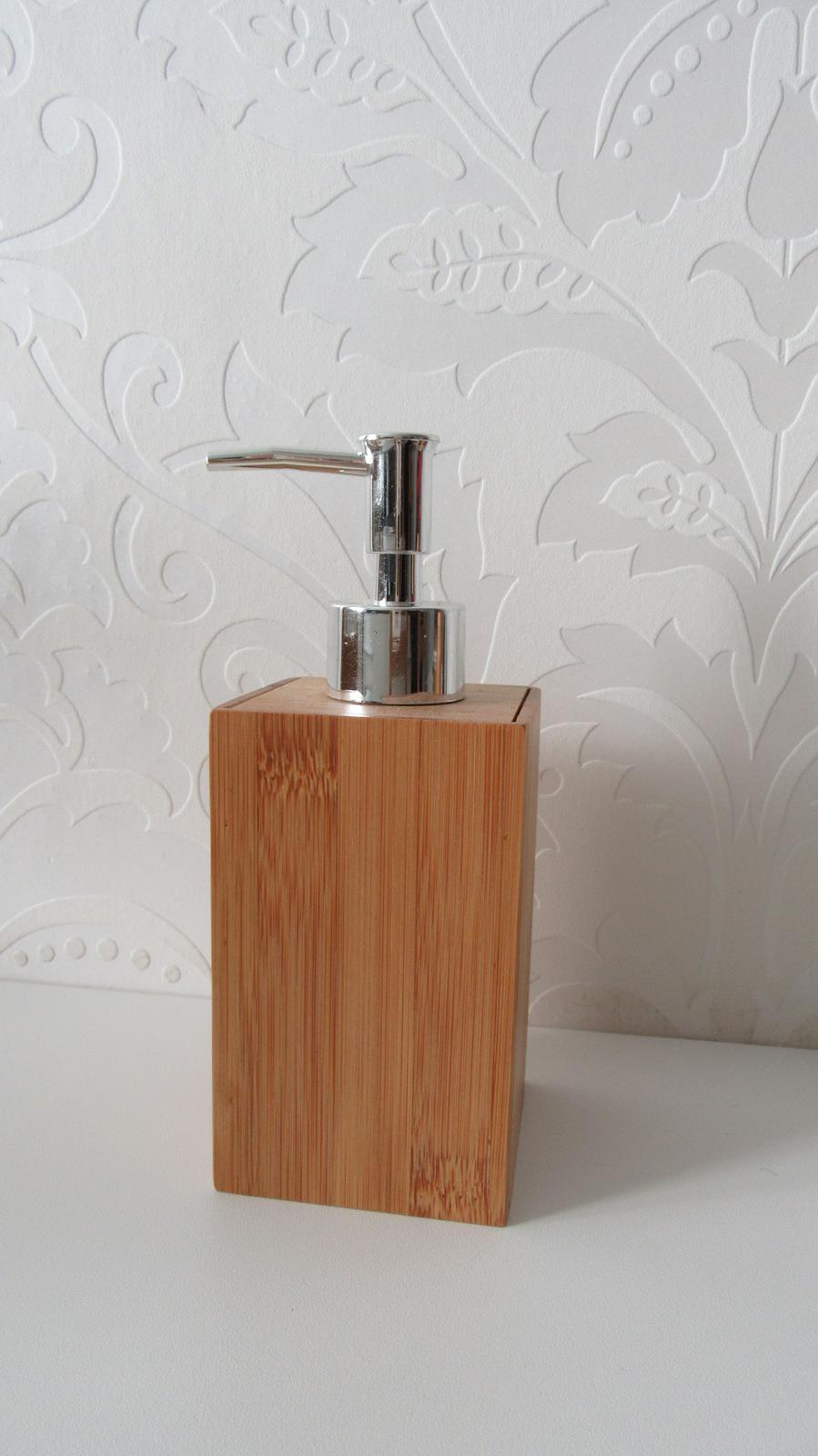 Dávkovač mydla/ saponátu Galzone Bamboo - Obrázok č. 1