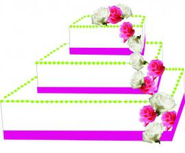 navržený dort