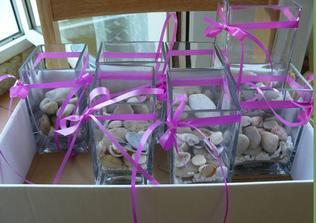 vázičky s kamínkama