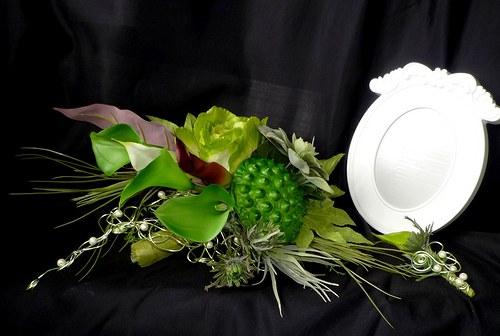 Svatební kytice Jungle + korsáž - Obrázek č. 4